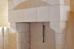 Cheminée Monumentale de Manoir à linteau plat