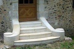 Escalier / perron  du XIXe siècle