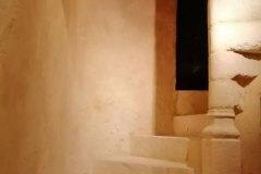 Escalier hélicoïdal de manoir