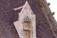 Lucarne de manoir XVe siècle