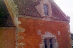 Lucarne et fenêtre à meneau XVIe siècle