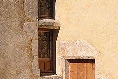Fenêtre à traverse du XVe siècle