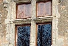 Fenêtre à meneau du XVe siècle