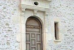 Porte de manoir Renaissance  du XVe siècle